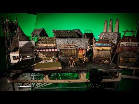 On the Shooting Set of Aardman Animations