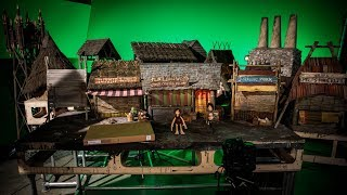 On the Shooting Set of Aardman Animations