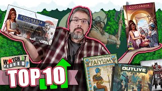 Top 10 Board Games Gaining Popularity | March 2021