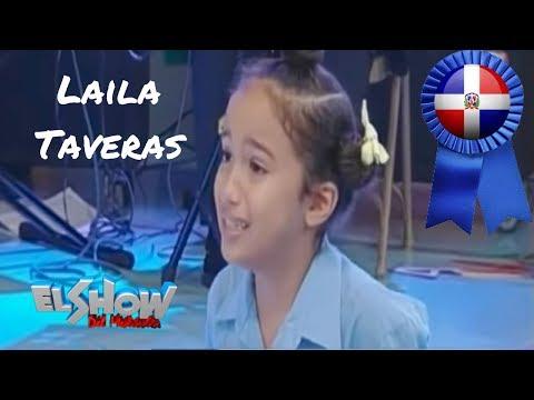 Laila Mariel Taveras hace un gran monologo - Pido La Palabra en el Reality Pequeños Grandes Talentos