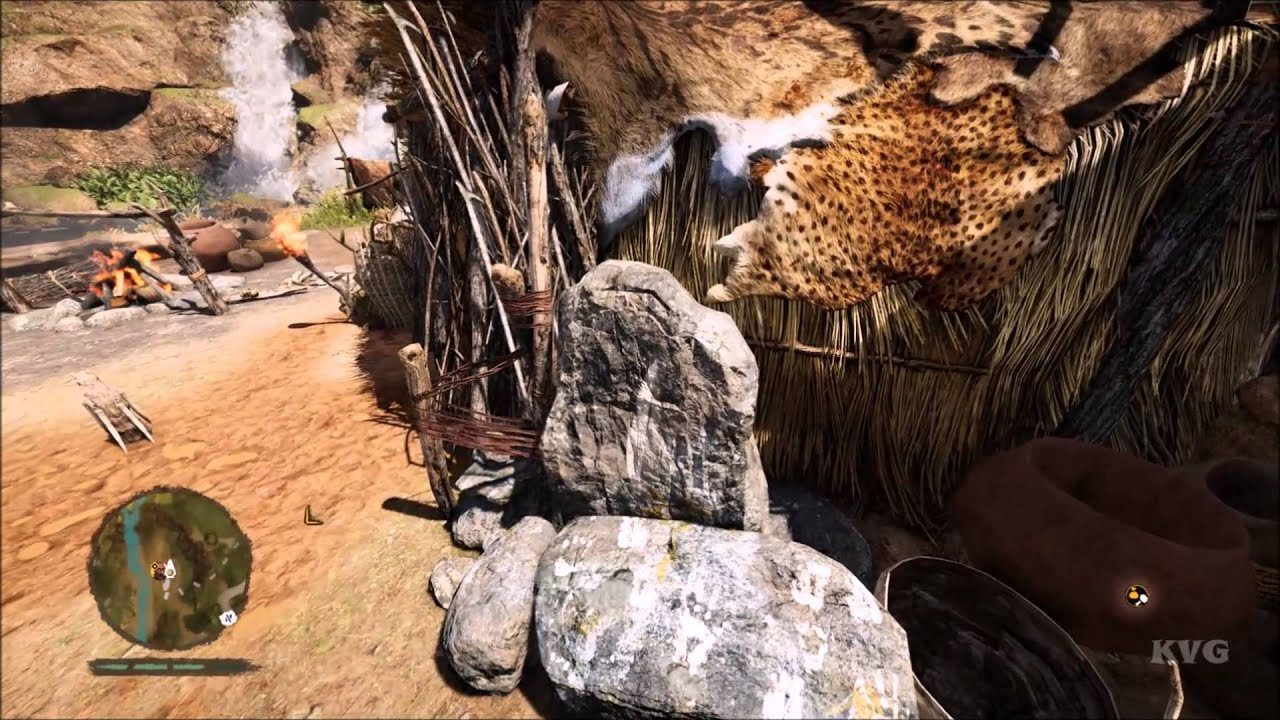 Far Cry Primal All Upgrades Caves Huts Animations Pc Hd