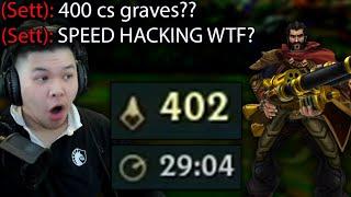 How I did a 400 CS SPEEDRUN on Graves in 29 minutes (100% FULL CRIT GRAVES)