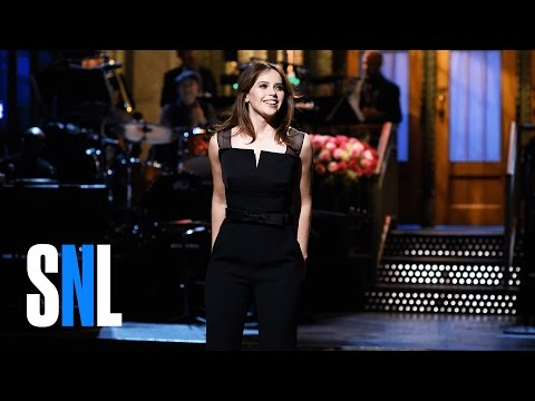 Felicity Jones Monologue - SNL fragman