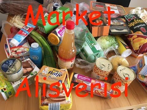 Alman Market Alisverisi