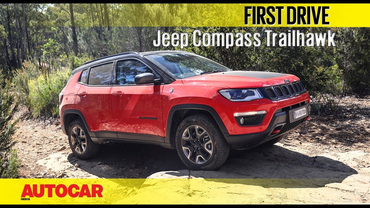 Jeep Compass Trailhawk Diesel Automatic First Drive Autocar