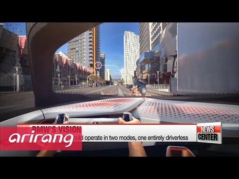 BMW reveals AI capable concept car