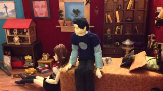 We Won't Feel a Thing Stop-Motion Book Trailer!
