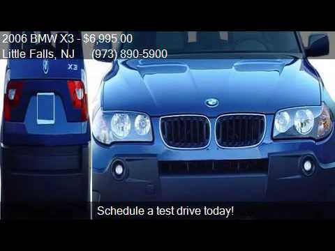 2006 BMW X3 3.0i AWD 4dr SUV for sale in Little Falls, NJ 07