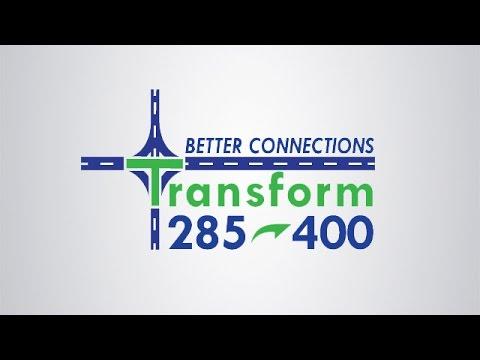 I-285 at SR400 Interchange and CD Lanes Proposed Design