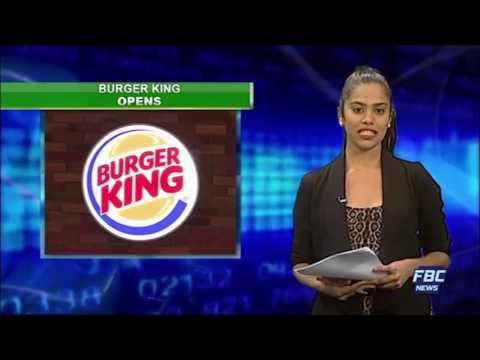 Burger King opens new airport outlet