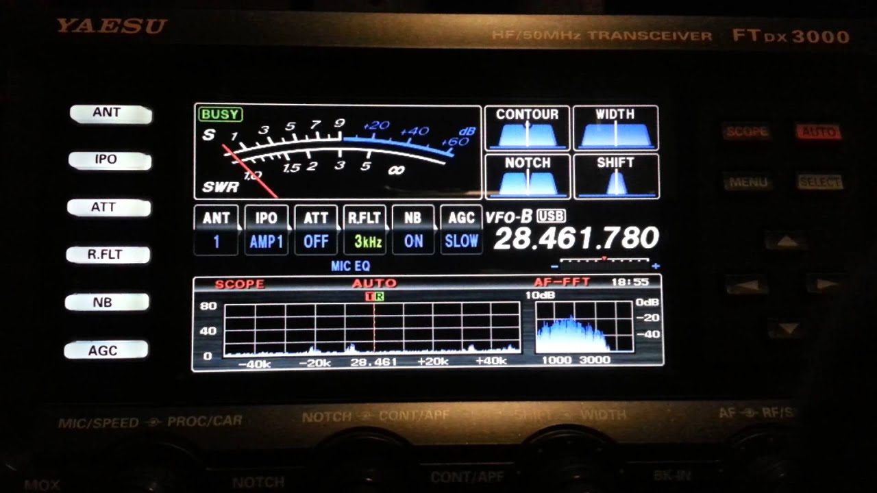 Yaesu ft dx 3000 recibiendo a ea7qc en puerto rico for Ft 3000