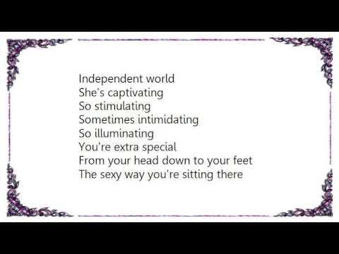 What words..., lyrics sexy independent