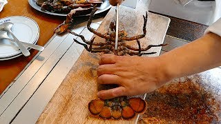 日本料理 - 新鮮的龍蝦和牛排鐵板燒沖繩日本