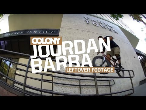 Even Jourdan's leftover clips are solids, check out more Barba goodness! Watch jourdan's full video part here: https://www.youtube.com/watch?v=QvtGClMEYqI Check his signature Menace Guard...