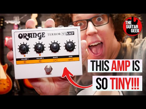 Tube Amp that fits on your pedalboard - First Look at the Orange Terror STAMP