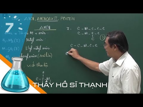 Hóa 12 Bài 9: Amin | HỌC247