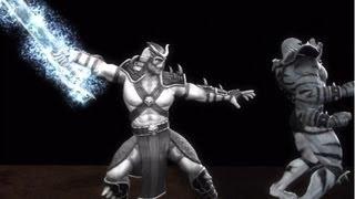 Mortal Kombat 9: All X-Ray's Performed by Shao Kahn HD