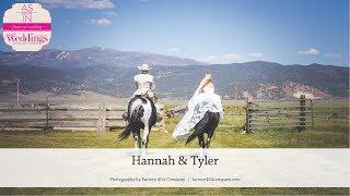 Bridgeport Wedding: Hannah & Tyler as seen in Summer/Fall 2018