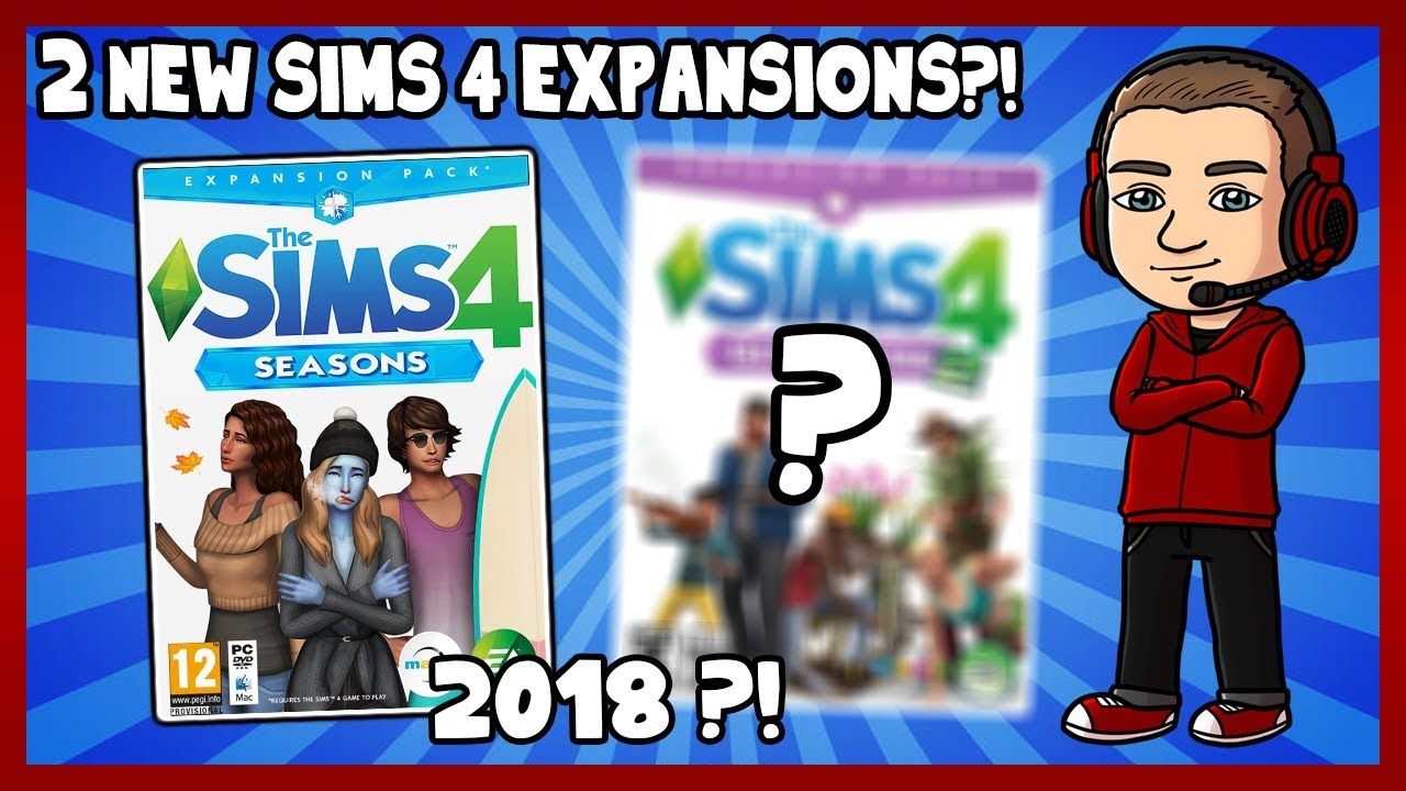 Best Sims 4 Expansion Packs 2019 Sims 4   2 NEW EXPANSIONS IN 2018?!   YouTube