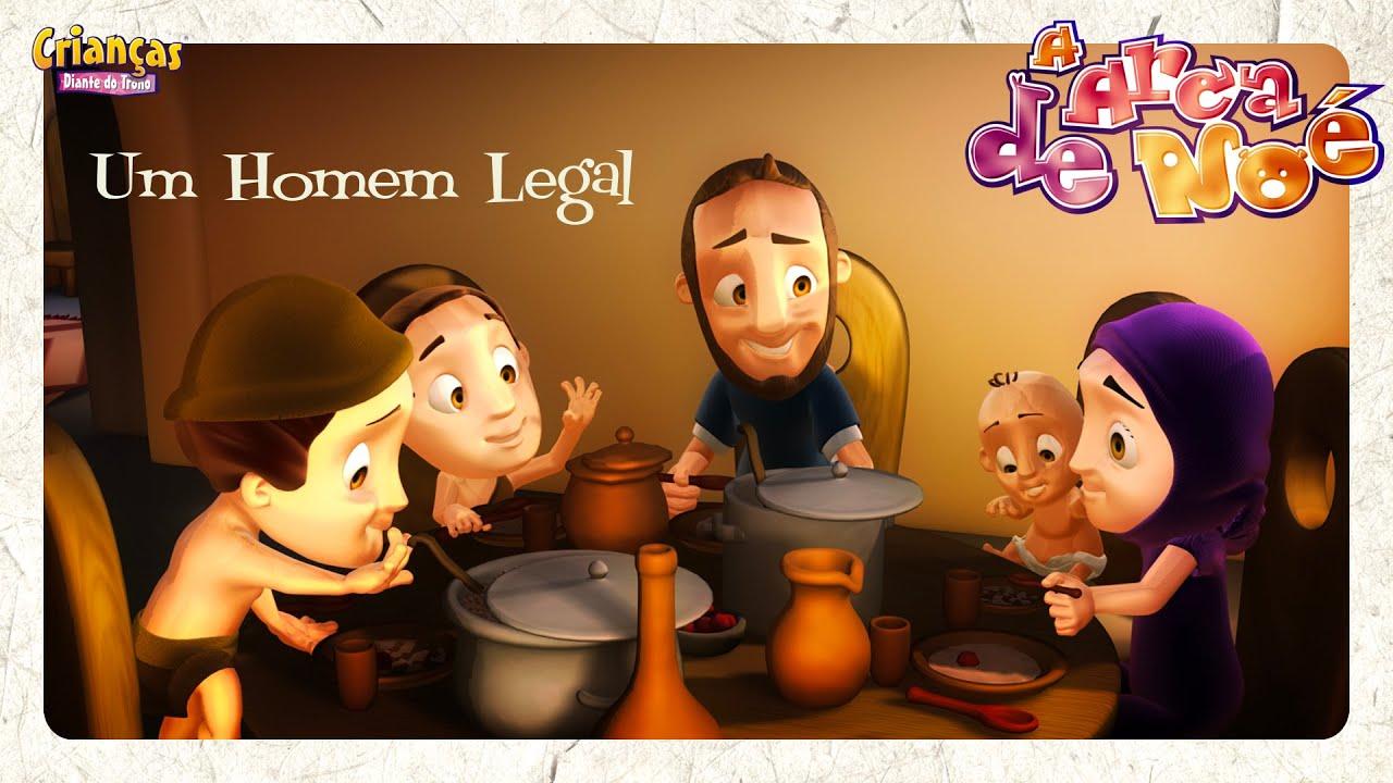 Um Homem Legal - Crianças Diante do Trono