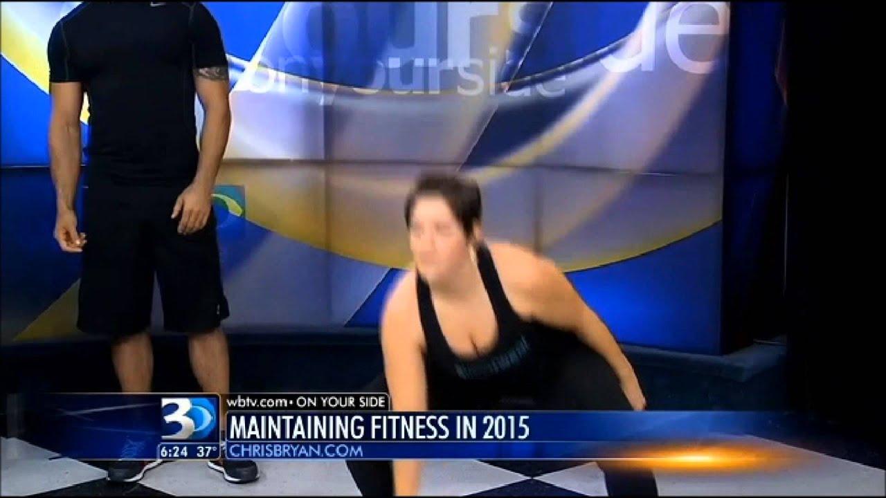 CBS WBTV Maintaining Fitness w/ Chris Bryan