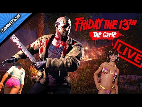 🔪 Friday the 13th The Game 🔪 NEW Counselors /New Jason / Interactive Streamer /NEW MAP!!!