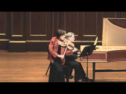 Miriam Fried plays Bach Sonata No.1 BWV 1014 (made by SiMon) in 1080p HD