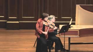 Miriam Fried plays Bach Sonata No.1 BWV 1014 (made by SiMon) in 1080p HD