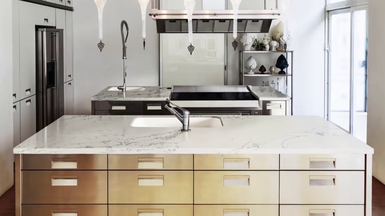 Introducing bianco dolomite from corian® quartz youtube