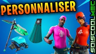 FORTNITE: PERSONALSKINS - PIOCHE - PLANEUR - SAC A DOS, PERSONALNALISABLE COSMETIC