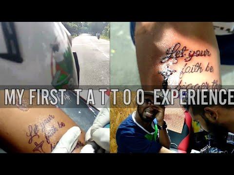 Vlog 7 - My First Tattoo Experience | Chennai Besant Nagar S2 Tattoos