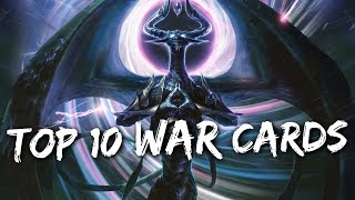 My TOP 10 Favorite WAR of the SPARK Cards