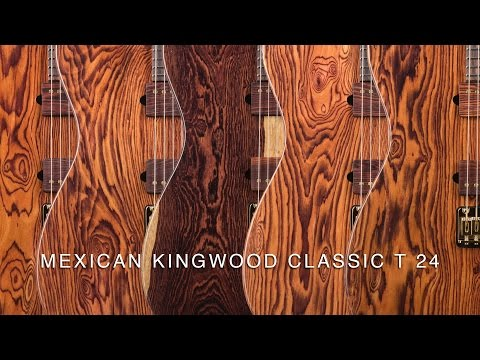 SUHR 2016 COLLECTION - MEXICAN KINGWOOD CLASSIC T 24
