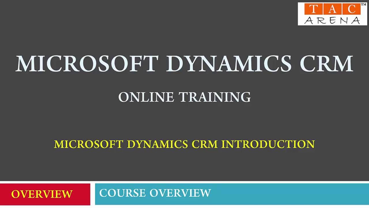 Microsoft Dynamics Crm Online Training Microsoft Dynamics 365