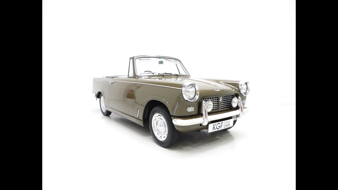 Fabuleux A Genuine and Delightful Triumph Herald 1200 Convertible with  SV69