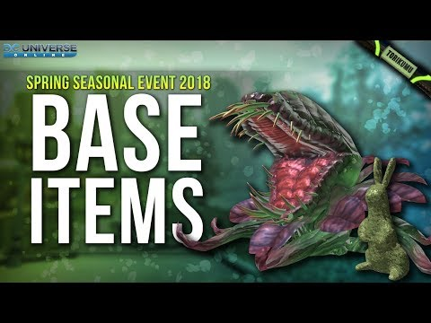 DCUO Spring Event 2018: Base Items and Base Pets