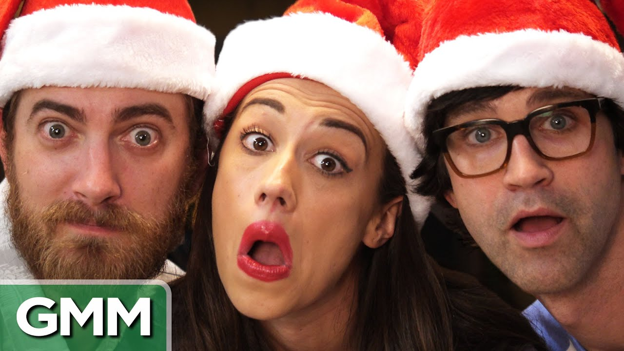 Christmas Song Challenge ft. Miranda Sings - YouTube