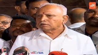 BS Yeddyurappa Addresses Media Over Sri Shivakumara Swamiji | YOYO TV Kannada