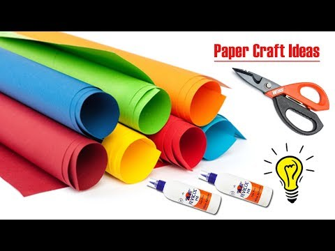 Awesome paper craft idea for home decoration || DIY Paper Craft Ideas