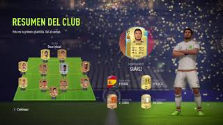 MI ULTIMATE TEAM FIFA 18 EMPEZANDO!!!!