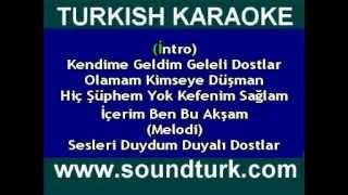 DUMAN İçerim Ben Bu Akşam karaoke version