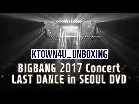 [Ktown4u Unboxing] BIGBANG 2017 Concert [LAST DANCE] in Seoul DVD 빅뱅
