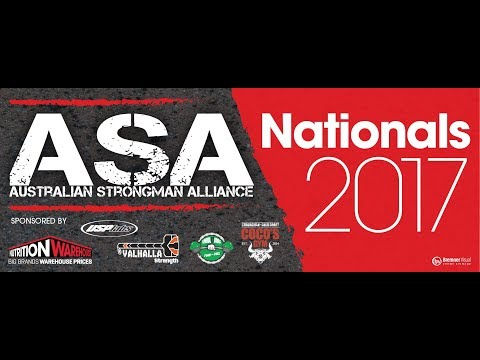 Australian Strongman Alliance Nationals 2017