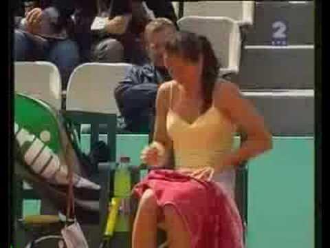 tennis Changement de culotte