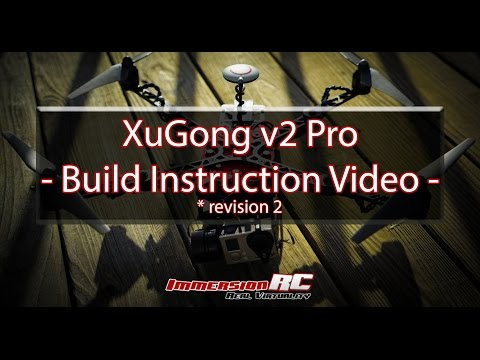 ImmersionRC XuGong Pro v2 Build (Revision 2 - updated)
