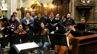 Kantiléna (Mixed choir) - All Souls Day concert rehearsal 2009 Pt. 2