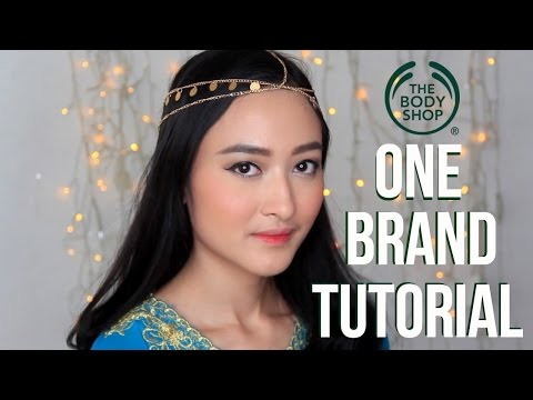 ONE BRAND TUTORIAL - The Body Shop // Makeup Lebaran