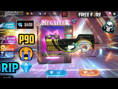 P90 PHANTOM PERMANENT GUN SKIN - NEW WEAPON ROYAL / GARENA FREE FIRE