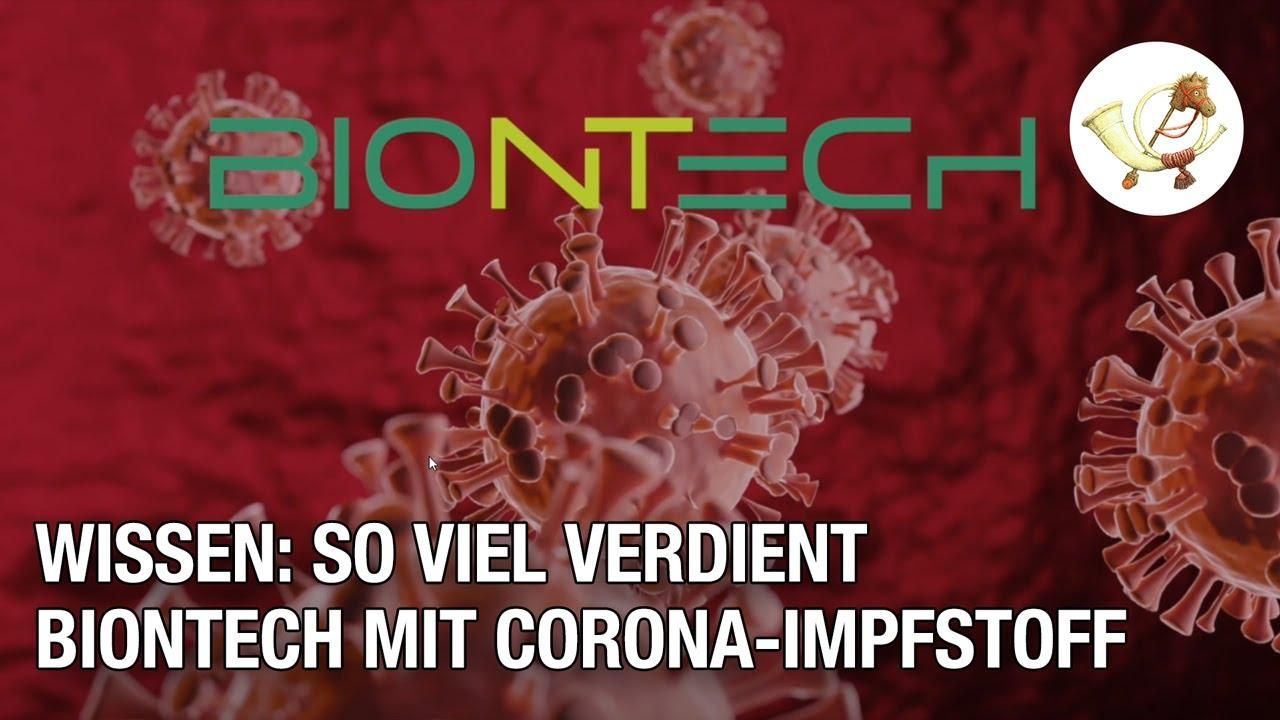 Wie viel verdient die Firma BioNTech mit ihrem Corona-Impfstoff? Eine wissenschaftliche Modellierung