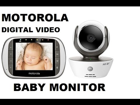 motorola digital video baby monitor unboxing review demo youtube. Black Bedroom Furniture Sets. Home Design Ideas